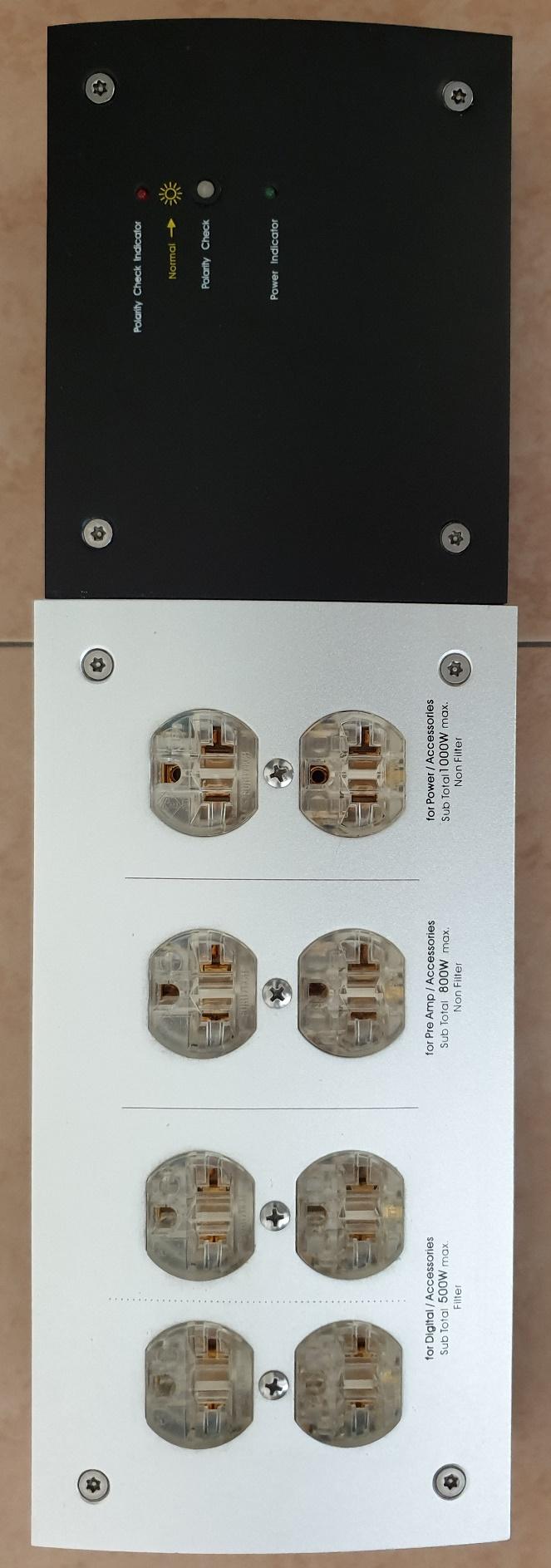 Furutech e-TP80 AC Power Filter Distributor (SOLD) Top_vi10