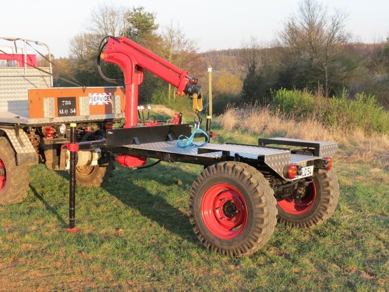 Procédure pour construire une remorque sur la base d'un Unimog Remorq11