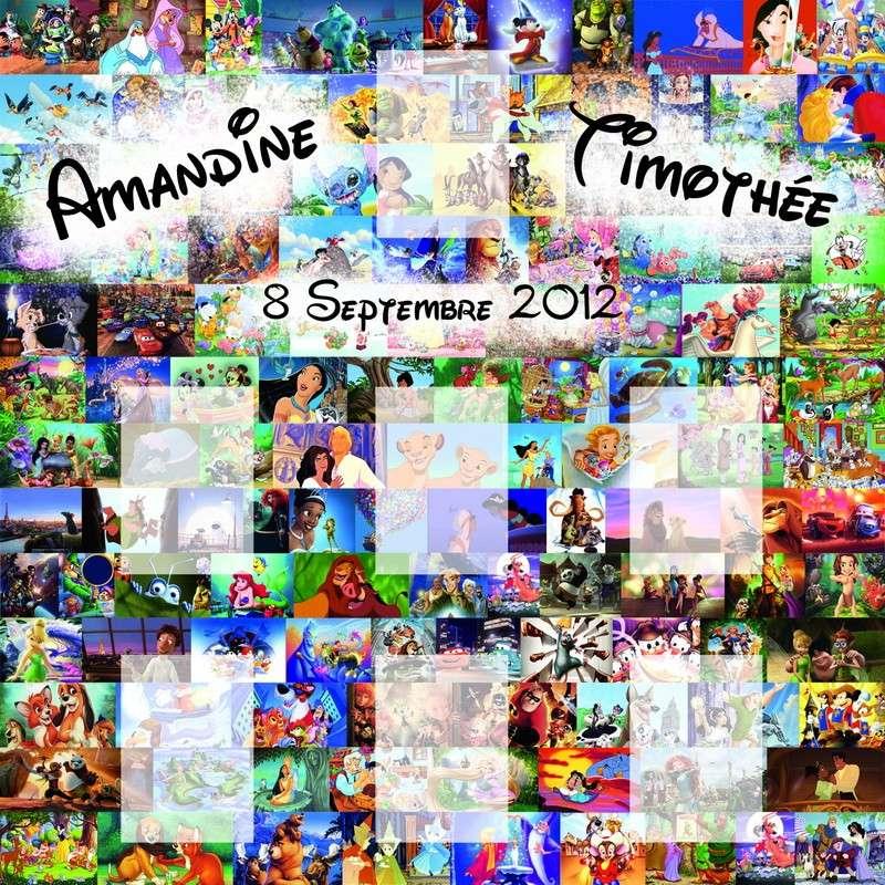 Mariage du 8 Septembre 2012 sur le thème Disney!!! Affich12