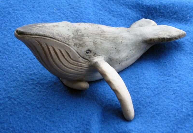 Stoneware Whale Figure - Animal Friends  Whale_10