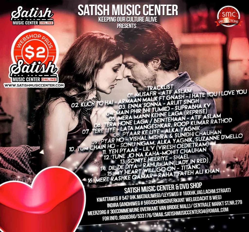 Satish Music Center (SMC) Presents Secret Affair Dj Viraj, Dj Vish, Dj Express (February 2018) V26-210