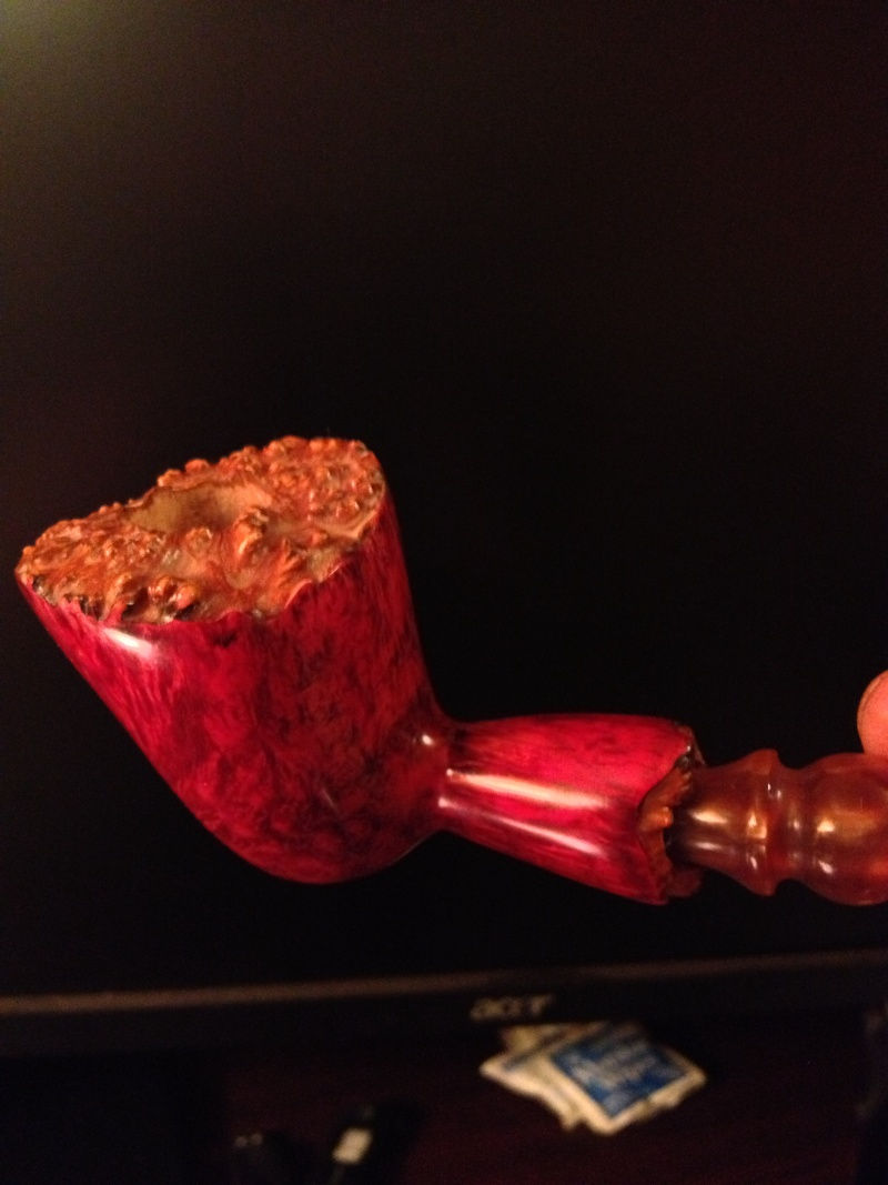 My third pipe (an attempt at free hand) Img_0715