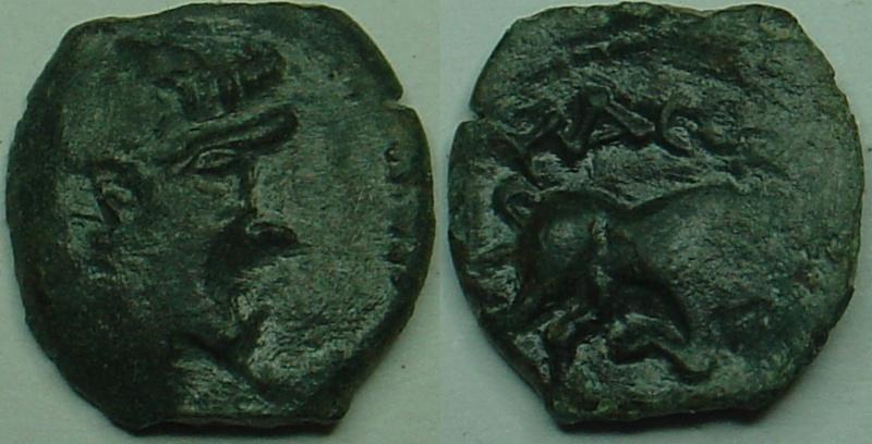 Bronze au taureau à ID 52311