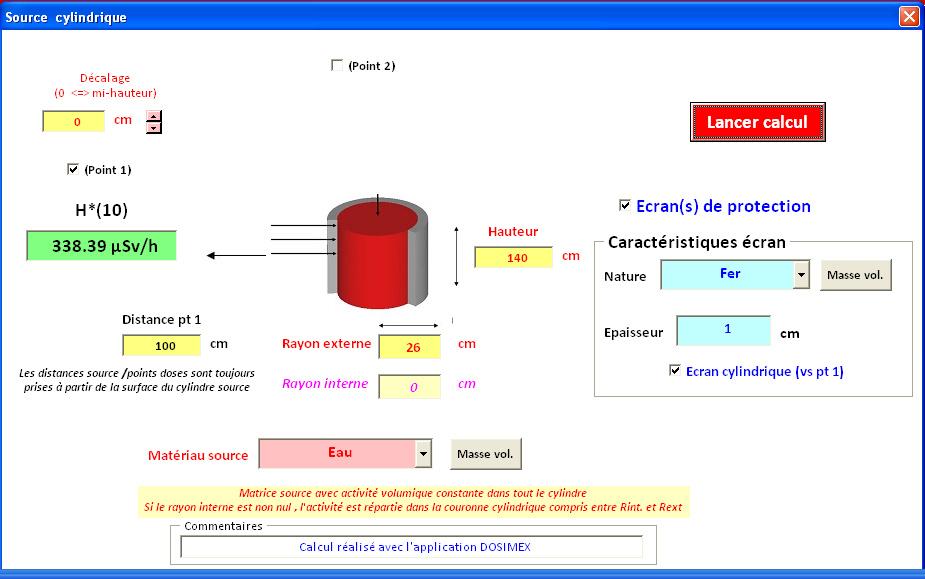 Analyse de l'arrete Dosimetrie Cuve1_11