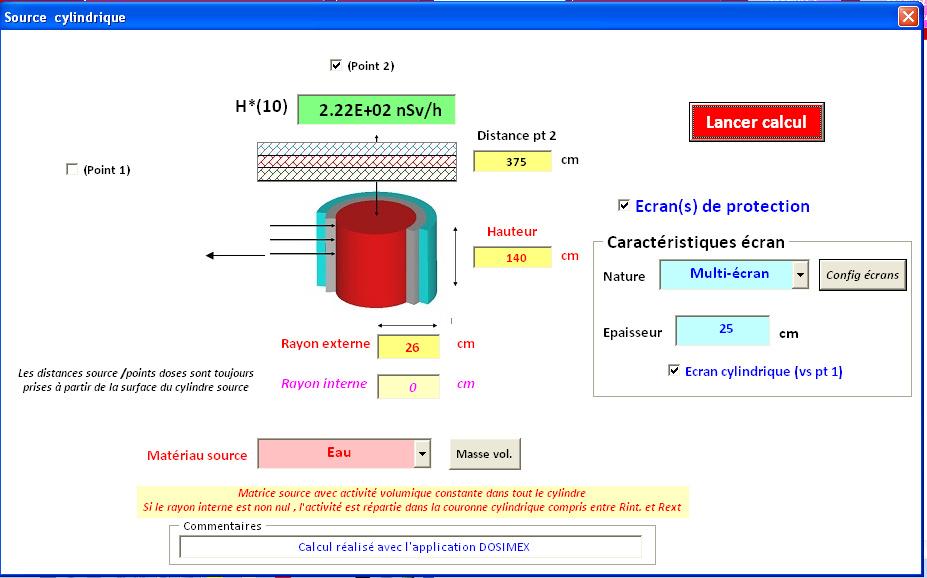 Analyse de l'arrete Dosimetrie Cuve3_11