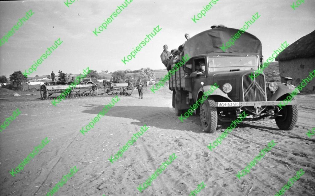 Camions CITROËN dans la Wehrmacht 45-410