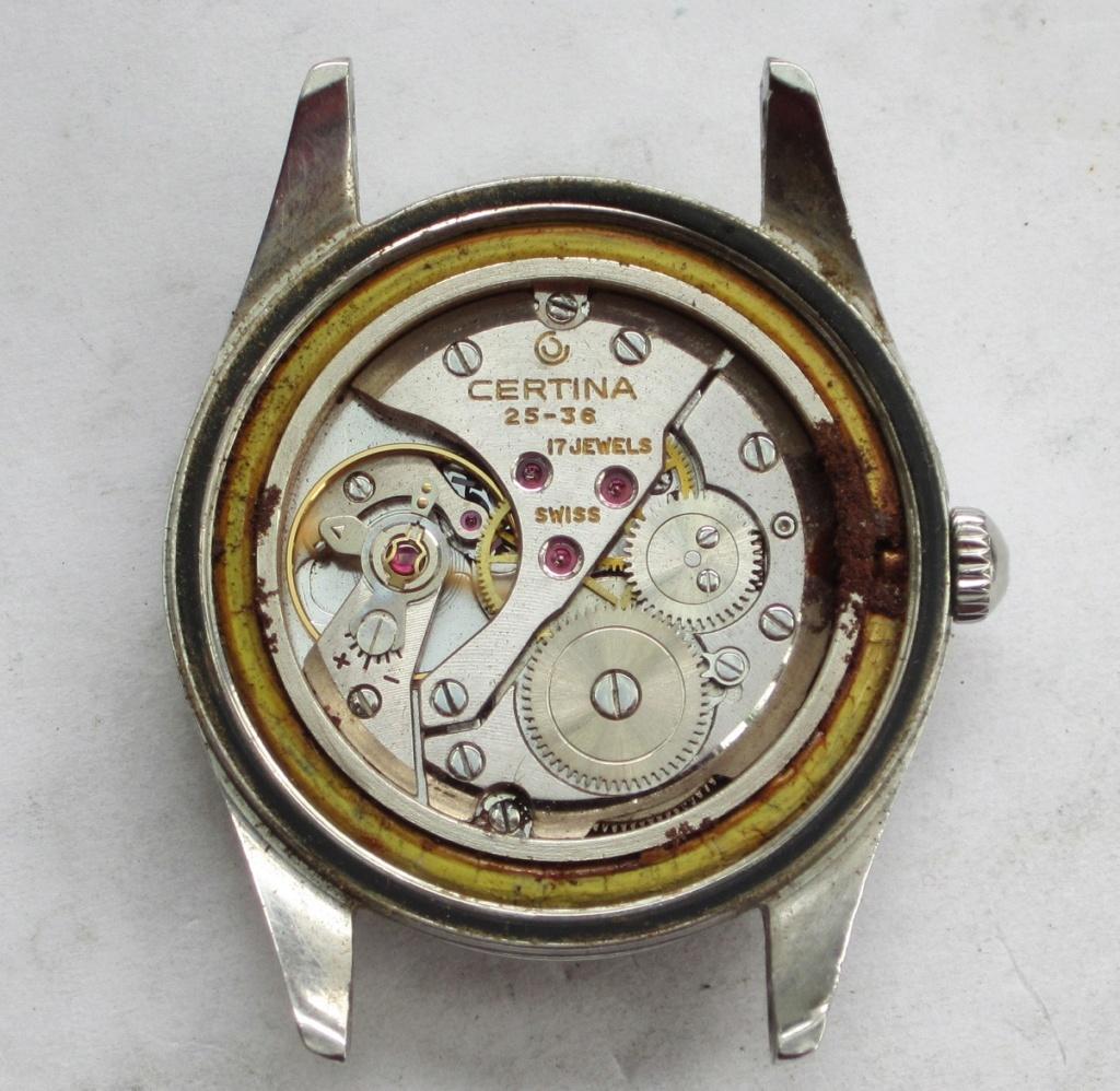 Un post qui référence les montres de brocante... tome IV - Page 33 Certin11