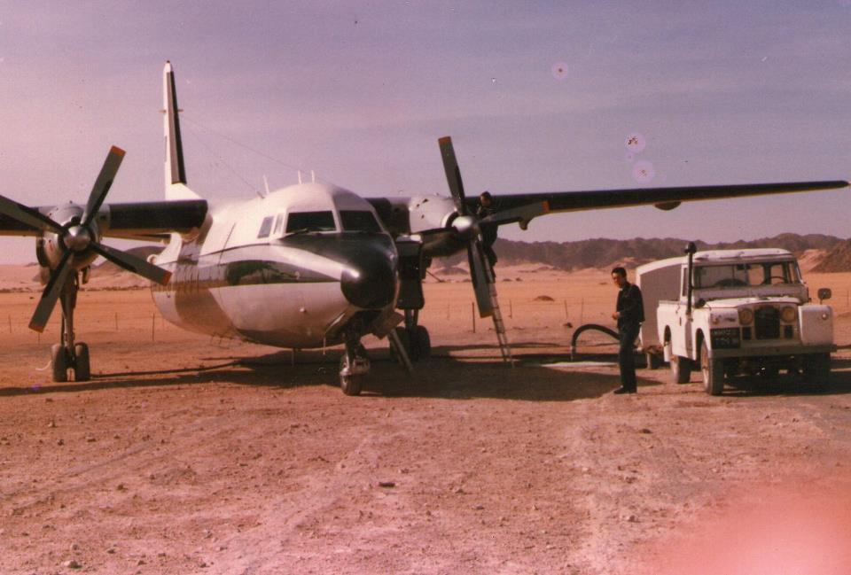 Fokker f27 algerien Fokker10