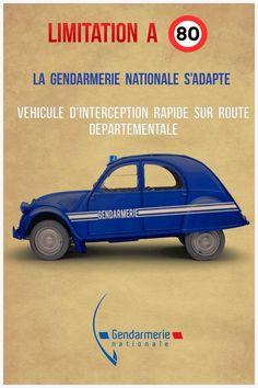 Les bicylindres (2cv, Dyane, AMI 6et 8, Méhari.....) - Page 34 Gendar10