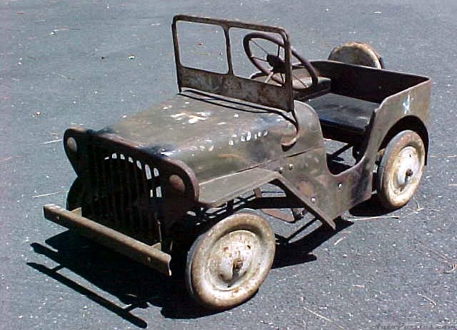 voitures à pédales Jeepke10