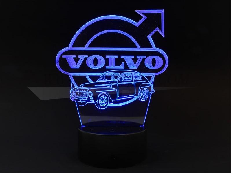 Lampe décorative multicolore Volvol10