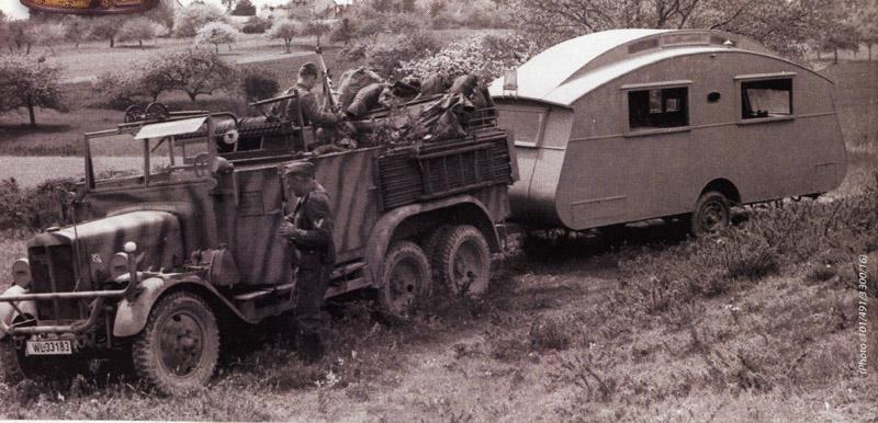 Caravanne Notin commandé par la luftwaffe. Wlcara10