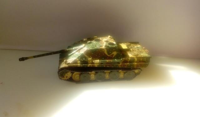 Sd.Kfz. 173 Jagpanther -- Italeri -- 1/72 01-06-11