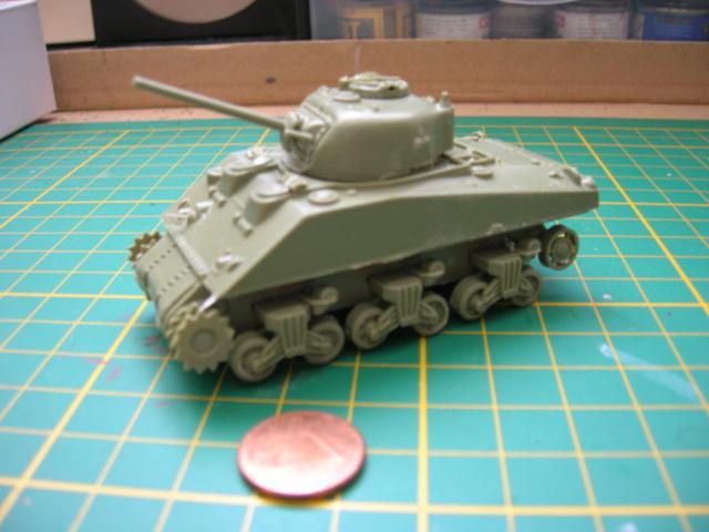Sherman Crab Tank - AIRFIX - 1/72 03-08-11