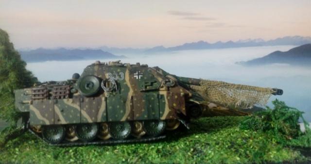 Sd.Kfz. 173 Jagpanther -- Italeri -- 1/72 04-05-13