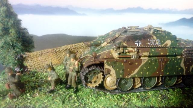 Sd.Kfz. 173 Jagpanther -- Italeri -- 1/72 04-05-14