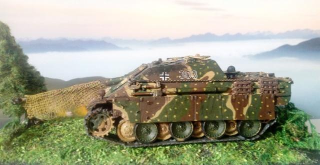 Sd.Kfz. 173 Jagpanther -- Italeri -- 1/72 04-05-15
