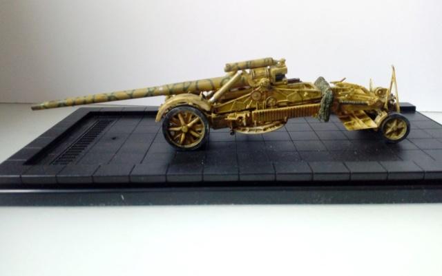 Canon lourd Kanone 18 de 17 cm. -- Revell -- 1/72 06-12-10