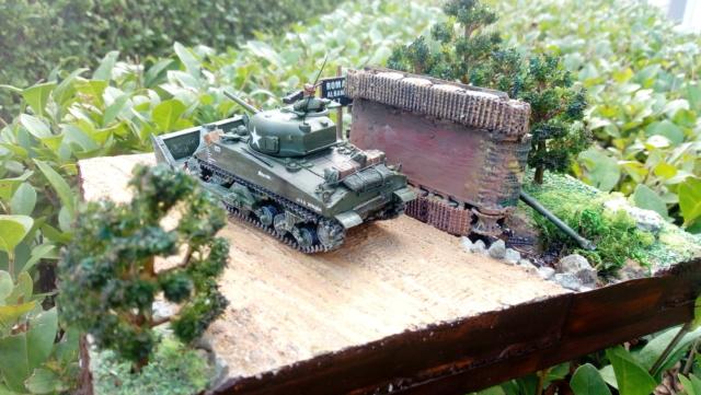 ITALIE  1944 - Tigre & Sherman  au 1/72ème 07-09-12