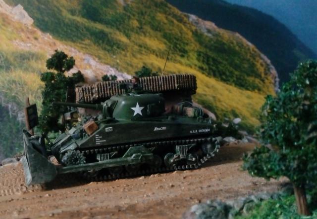 ITALIE  1944 - Tigre & Sherman  au 1/72ème 07-09-13