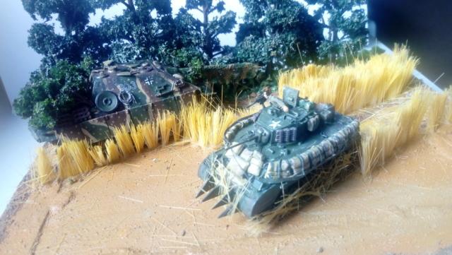 Photo souvenir -- M5A1 Stuart , SdKfz 173 Jagpanther & Panther  13-06-10