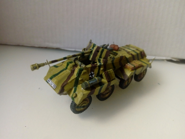 Quelque part en Europe 1945 - Sd.Kfz. 234/4 Airfix- 1/72 14-10-14