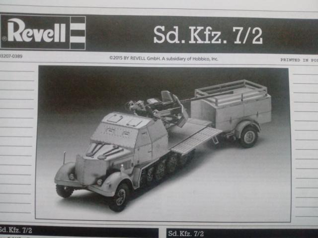 Sd.Kfz. 7/2 Flak 37 -- Revell -- 1/72 15-01-10