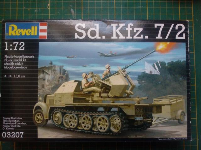 Sd.Kfz. 7/2 Flak 37 -- Revell -- 1/72 15-01-11
