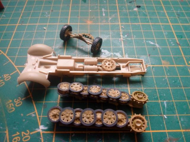 Sd.Kfz. 7/2 Flak 37 -- Revell -- 1/72 17-01-11