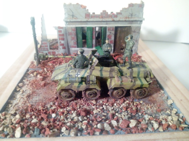 Quelque part en Europe 1945 - Sd.Kfz. 234/4 Airfix- 1/72 17-10-11