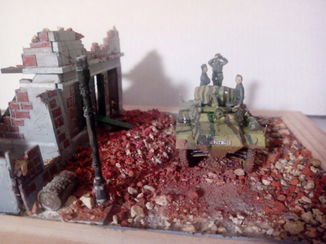 Quelque part en Europe 1945 - Sd.Kfz. 234/4 Airfix- 1/72 17-10-12