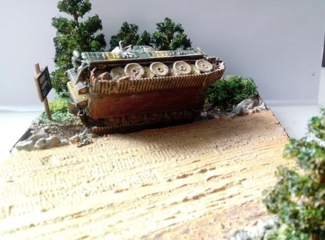 ITALIE  1944 - Tigre & Sherman  au 1/72ème 18-08-13