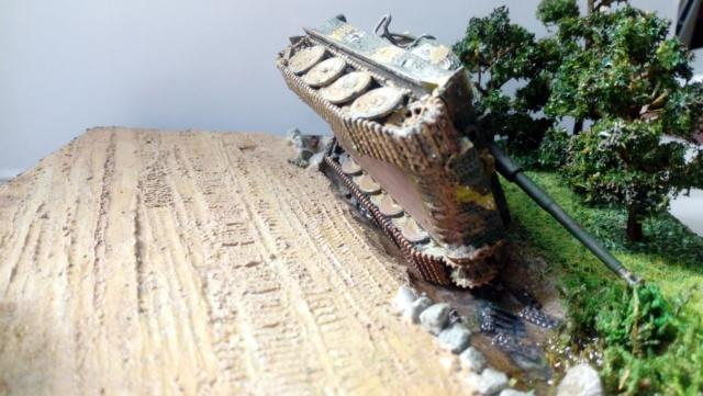 ITALIE  1944 - Tigre & Sherman  au 1/72ème 18-08-15