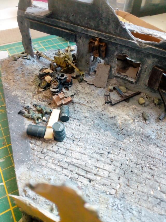 Berlin 1945 -- 1/72 -- Pak 40 Revell et Js 2 Italeri  19-03-13