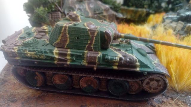 Photo souvenir -- M5A1 Stuart , SdKfz 173 Jagpanther & Panther  22-06-10
