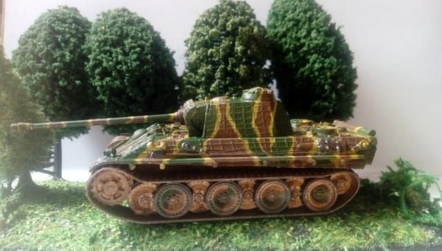 Photo souvenir -- M5A1 Stuart , SdKfz 173 Jagpanther & Panther  23-06-10