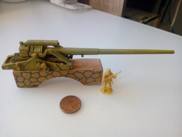 Canon lourd Kanone 18 de 17 cm. -- Revell -- 1/72 23-11-10