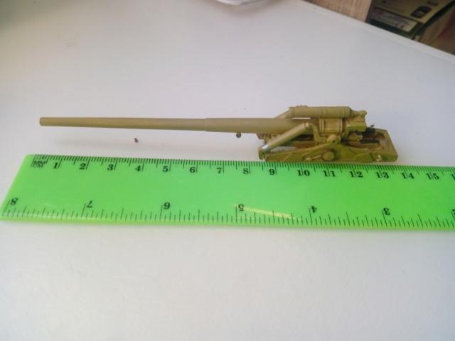 Canon lourd Kanone 18 de 17 cm. -- Revell -- 1/72 23-11-11