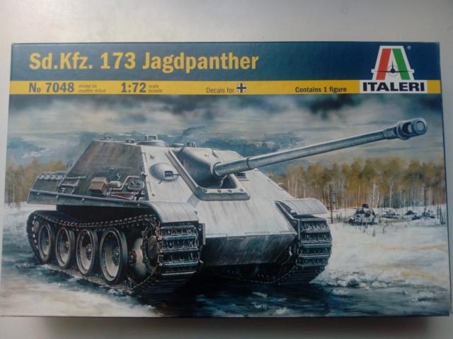 Sd.Kfz. 173 Jagpanther -- Italeri -- 1/72 24-05-13