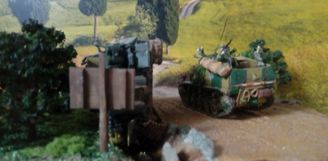 ITALIE  1944 - Tigre & Sherman  au 1/72ème 24-08-11