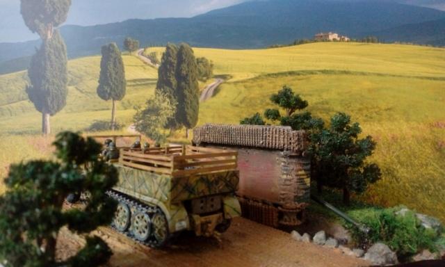 ITALIE  1944 - Tigre & Sherman  au 1/72ème 24-08-12
