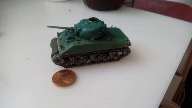 M4A2 Sherman with M1 dozer blade -- UM --  1/72  27-08-10