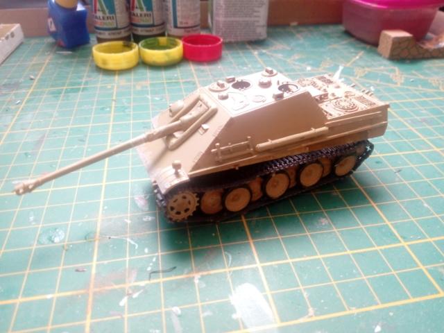 Sd.Kfz. 173 Jagpanther -- Italeri -- 1/72 28-05-12