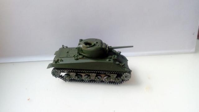 M4A2 Sherman with M1 dozer blade -- UM --  1/72  28-08-21