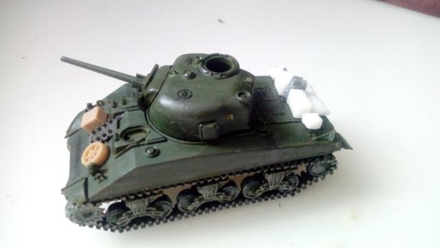 M4A2 Sherman with M1 dozer blade -- UM --  1/72  29-08-10