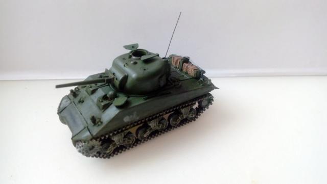 M4A2 Sherman with M1 dozer blade -- UM --  1/72  29-08-11
