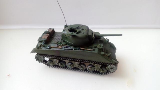 M4A2 Sherman with M1 dozer blade -- UM --  1/72  29-08-12