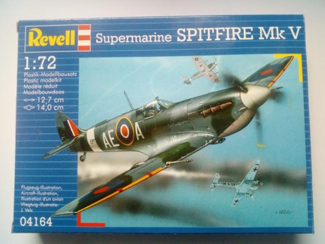 SPITFIRE MK V --  Revell -- 1:72 29-12-20