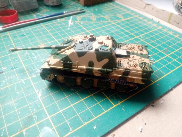 Sd.Kfz. 173 Jagpanther -- Italeri -- 1/72 30-05-11