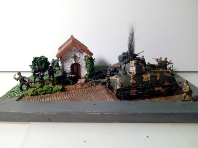 Amère victoire juin 1940 -- Somua S-35 (Heller) -- Pzkfwz 38 (t) (Armourfast) -- 1/72 Dio_te10